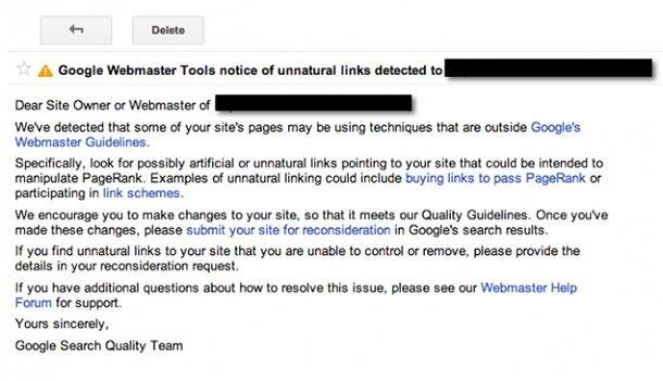 Omaha SEO_Google Manual Action