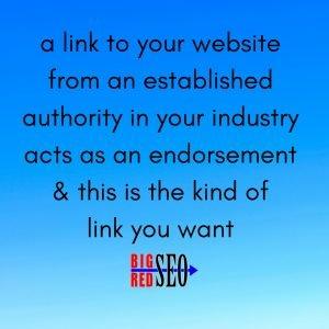 Omaha seo links start with endorsement links based on reputation