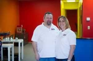 Big Red SEO Owners, Kimberly and Conor Treacy