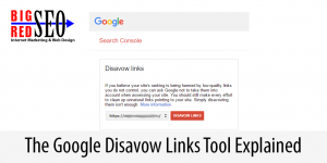 How To Use The Google Disavow Links Tool
