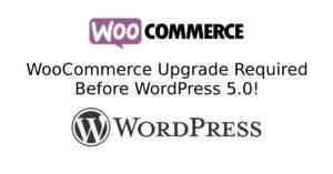 WooCommerce 3.5 and WordPress 5.0