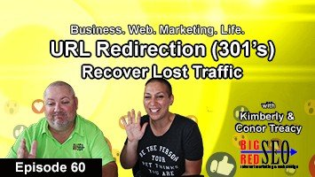 301 Redirects, 404 Error Pages, Episode 60: Big Red SEO Facebook Live