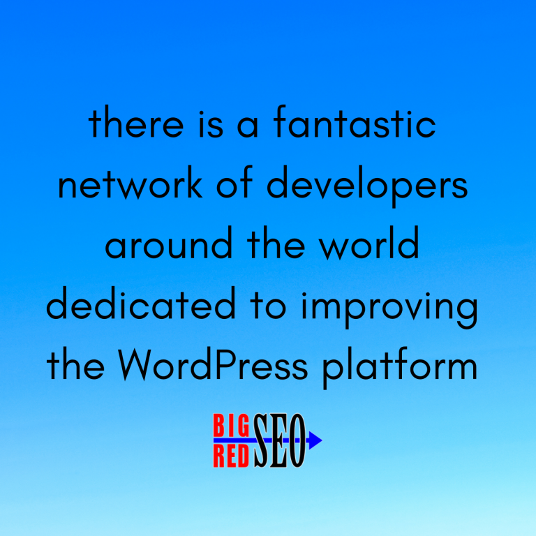 WordPress websites have access to talented developers around the world